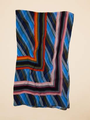 Diane von Furstenberg Sussex Stripe Scarf