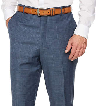STAFFORD Stafford Travel Plaid Stretch Classic Fit Suit Pants