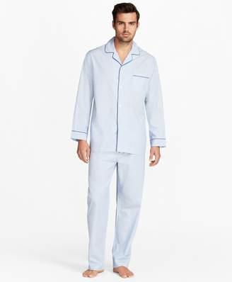 Brooks Brothers Mini-Music Stripe Pajamas