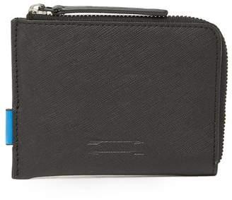 Uri Minkoff Levi Textured Leather Wallet