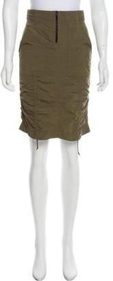 Tom Ford Knee-length Ruched Skirt