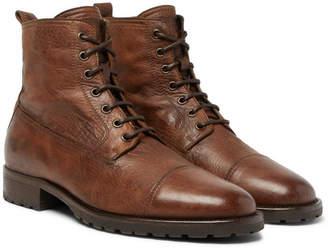 Belstaff Alperton 2.0 Burnished-Leather Boots
