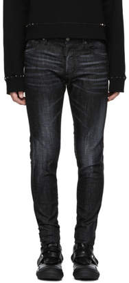 DSQUARED2 Black Skinny Dan Jeans