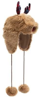 Collection XIIX Reindeer Faux Fur Trapper Hat