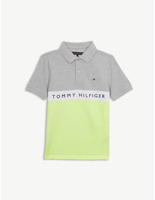 e2aa2255 Tommy Hilfiger Colour block logo polo shirt 4-16 years