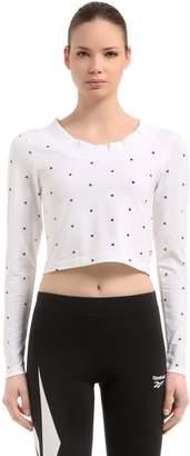 Reebok Classics Gigi Hadid Cotton Cropped T-Shirt