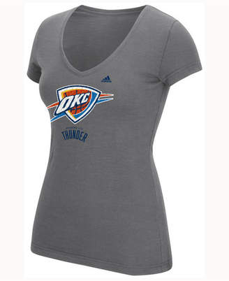 adidas Women's Oklahoma City Thunder Netted Shine T-Shirt
