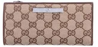 Gucci GG Canvas Fold Wallet