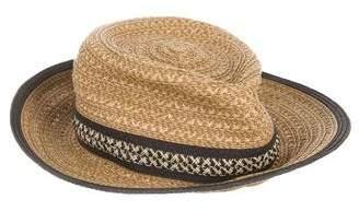 Eric Javits Straw Fedora Hat