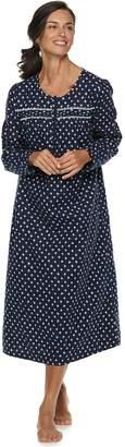 Croft & Barrow Women's Flannel Nightgown