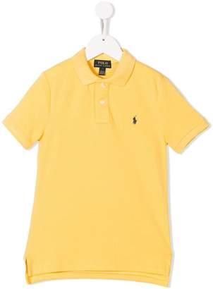 Ralph Lauren Kids contrast logo polo shirt