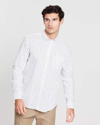 Ben Sherman LS Classic Polka Dot Shirt