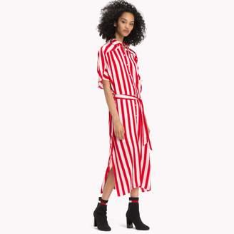 Tommy Hilfiger Chiffon Stripe Shirt Dress