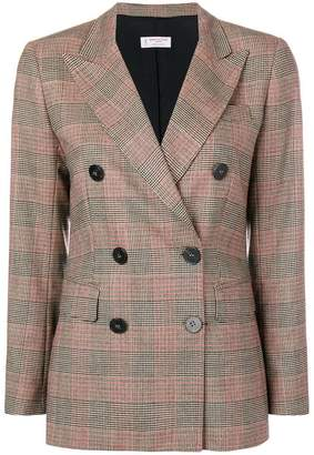 Alberto Biani double-breasted checked jacket