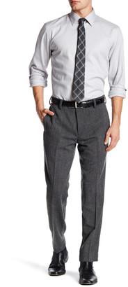 "Louis Raphael Solid Tweed Wool Blend Pant - 30-34"" Inseam $125 thestylecure.com"