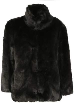 Michael Kors Faux Fur Jacket
