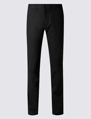 Marks and Spencer Slim Fit Pure Cotton Chinos