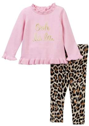 Kate Spade ooh la la sweater & leggings set (Baby Girls)