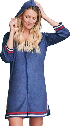 Women's Mazu Swim Hooded Terry Cloth Cover Up