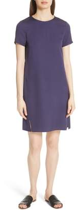 Theory Modern Silk T-Shirt Dress
