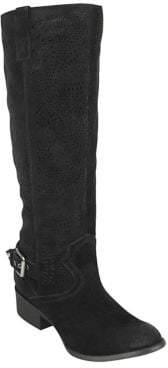 Naughty Monkey Ziba Suede Tall Boots