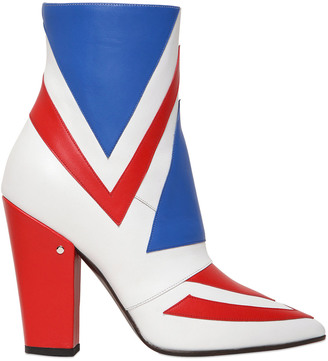 100mm David Bowie Leather Ankle Boots $960 thestylecure.com