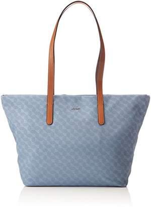 JOOP! Nylon Cornflower Helena Shopper Lhz, Women's Satchel, Blau (Light Blue), 15x30x49 cm (B x H T)
