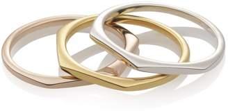 Relevée Solid Objective 18K Rose Gold Ring
