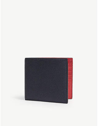 Thom Browne Pebbled leather billfold wallet