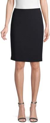 Calvin Klein Collection Striped Pencil Skirt