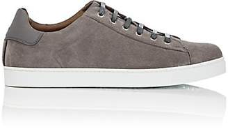 Gianvito Rossi Men's Suede Sneakers - Gray