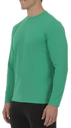 Athletic Works Big Men's Core Quick Dry Long Sleeve Tee