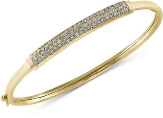 Effy Trio by Diamond Bangle Bracelet (1 ct. t.w.) in 14k White, Yellow or Rose Gold