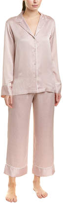Natori Labyrinth 2Pc Pajama Pant Set