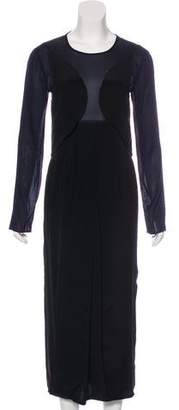 Maiyet Silk Midi Dress