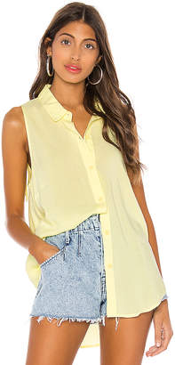 BCBGeneration Tie Back Sleeveless Top