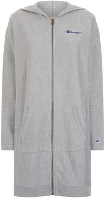 Champion Oversized Zip-Up Hoodie