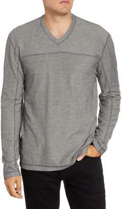 Agave Torrey Slim Fit Long Sleeve V-Neck T-Shirt