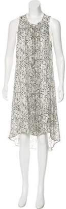 Haute Hippie Silk Beaded Dress