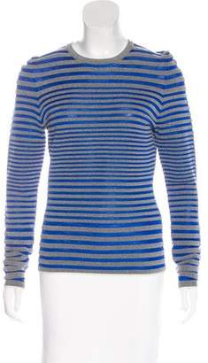Alexander Wang Mesh Striped Top