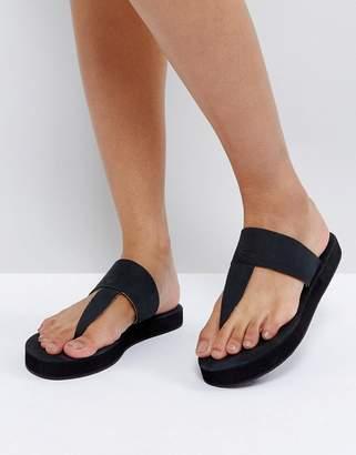 Free People Freepeople Leather Toepost Sandal