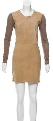 Rebecca Taylor Suede Mini Dress