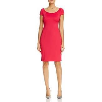 T Tahari Women's Pepita Short Sleeve Knit Dress
