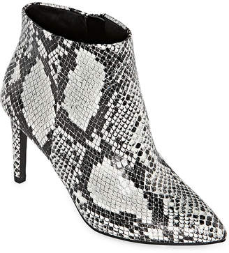 WORTHINGTON Worthington Womens Lorna Stiletto Heel Booties