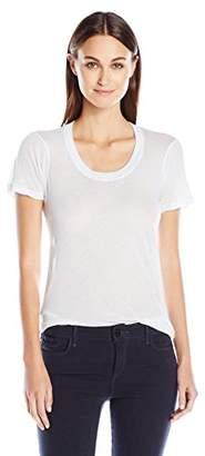 Monrow Women's Tissue Crew Neck Shirt