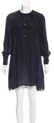 Raquel Allegra Oversize Mini Dress