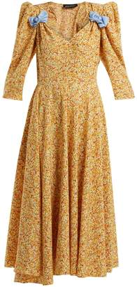 DAY Birger et Mikkelsen ANNA OCTOBER Bow-embellished floral-print dress