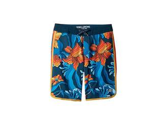 Billabong Kids 73 Light Lineup Boardshorts (Big Kids)