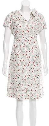 Marni Printed Midi Dress w/ Tags
