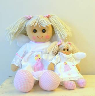 Little Ella James Set Of Two Fairy Rag Dolls